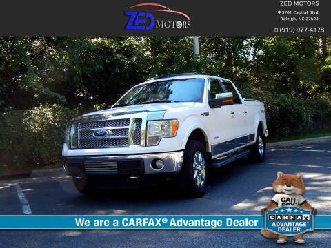 2012 Ford F-150 for sale at Zed Motors in Raleigh NC