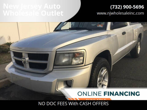 2011 RAM Dakota for sale at New Jersey Auto Wholesale Outlet in Union Beach NJ