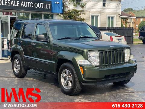 2008 Jeep Liberty for sale at MWS Wholesale  Auto Outlet in Grand Rapids MI