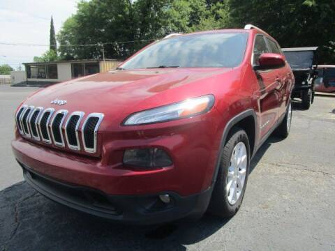 2014 Jeep Cherokee for sale at Lewis Page Auto Brokers in Gainesville GA