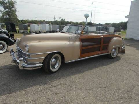 1948 Chrysler Town and Country for sale at Classic Car Deals in Cadillac MI
