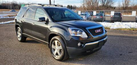 2012 GMC Acadia for sale at Transmart Autos in Zimmerman MN