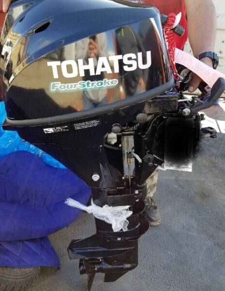 2018 Tohitsu Fourstroke for sale at United Auto Sales in Anchorage AK