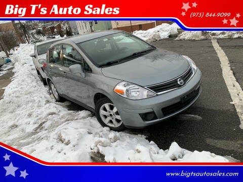 2012 Nissan Versa for sale at Big T's Auto Sales in Belleville NJ