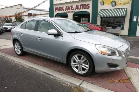 2013 Volvo S60 for sale at PARK AVENUE AUTOS in Collingswood NJ