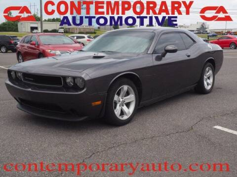 2014 Dodge Challenger for sale at Contemporary Auto in Tuscaloosa AL