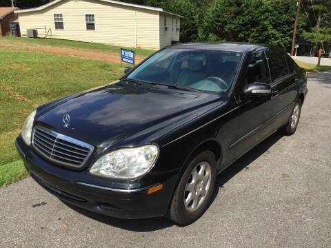 2001 Mercedes-Benz S-Class for sale at CAR STOP INC in Duluth GA