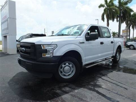 2016 Ford F-150 for sale at Automotive Credit Union Services in West Palm Beach FL