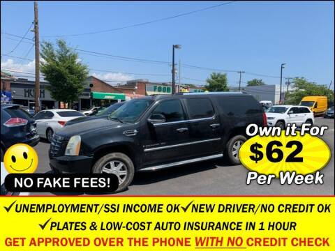 2007 Cadillac Escalade ESV for sale at AUTOFYND in Elmont NY