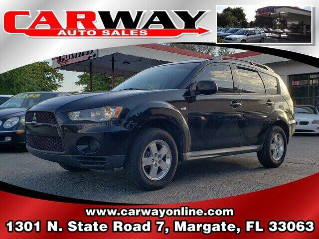 2010 Mitsubishi Outlander for sale at CARWAY Auto Sales in Margate FL