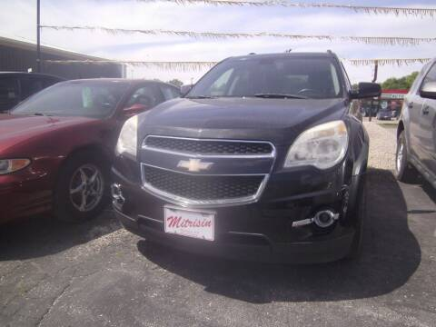 2011 Chevrolet Equinox for sale at MITRISIN MOTORS INC in Oskaloosa IA
