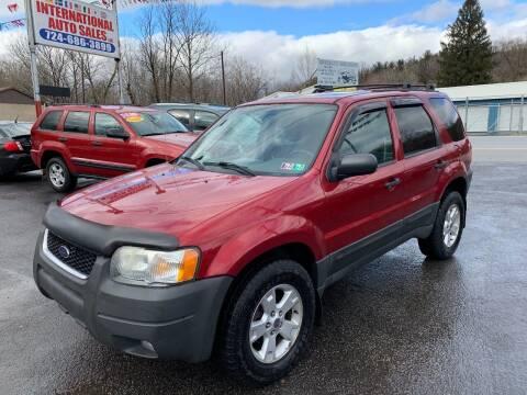 2003 Ford Escape for sale at INTERNATIONAL AUTO SALES LLC in Latrobe PA