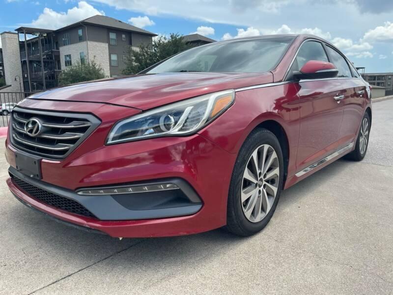2015 Hyundai Sonata for sale at Zoom ATX in Austin TX