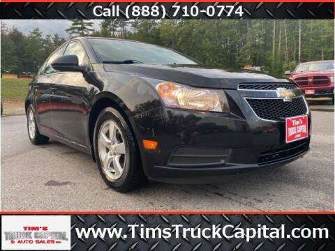 2011 Chevrolet Cruze for sale at TTC AUTO OUTLET/TIM'S TRUCK CAPITAL & AUTO SALES INC ANNEX in Epsom NH