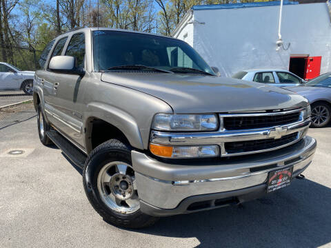 2002 Chevrolet Tahoe for sale at JerseyMotorsInc.com in Teterboro NJ