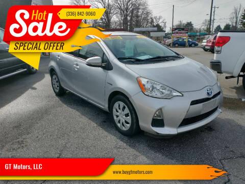 2014 Toyota Prius c for sale at GT Motors, LLC in Elkin NC
