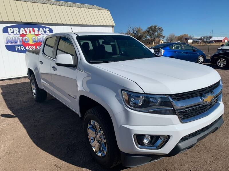 2017 Chevrolet Colorado for sale at Praylea's Auto Sales in Peyton CO