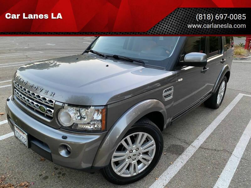 2010 Land Rover LR4 for sale at Car Lanes LA in Valley Village CA