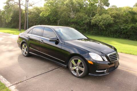 2013 Mercedes-Benz E-Class for sale at Clear Lake Auto World in League City TX