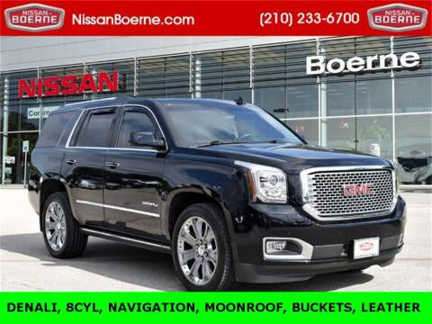 2016 GMC Yukon for sale at Nissan of Boerne in Boerne TX