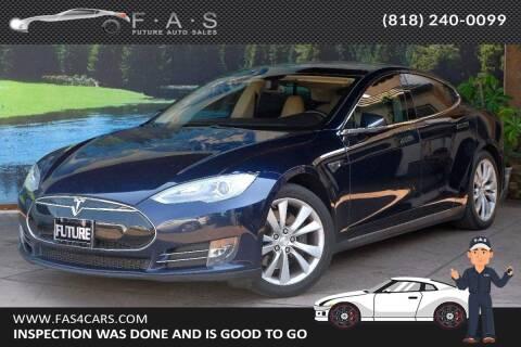 2014 Tesla Model S for sale at Best Car Buy in Glendale CA