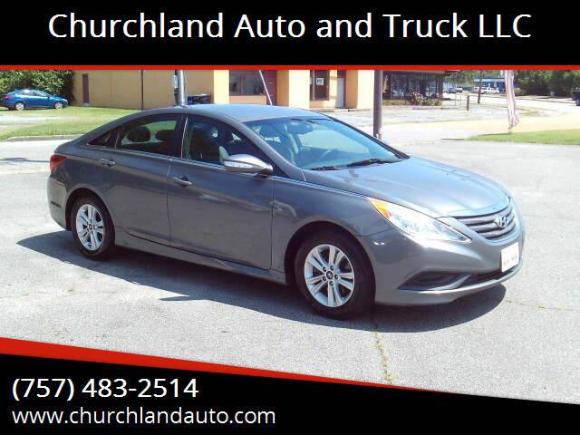 2014 Hyundai Sonata for sale at Churchland Auto and Truck LLC in Portsmouth VA