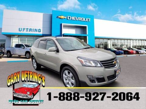 2017 Chevrolet Traverse for sale at Gary Uftring's Used Car Outlet in Washington IL