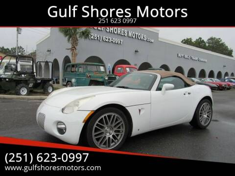 2007 Pontiac Solstice for sale at Gulf Shores Motors in Gulf Shores AL
