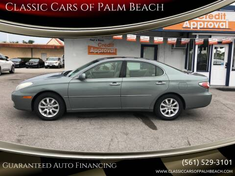 2004 Lexus ES 330 for sale at Classic Cars of Palm Beach in Jupiter FL