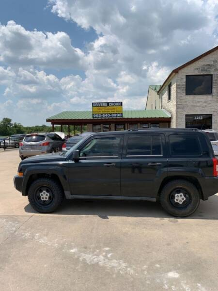 2009 Jeep Patriot for sale at Driver's Choice in Sherman TX