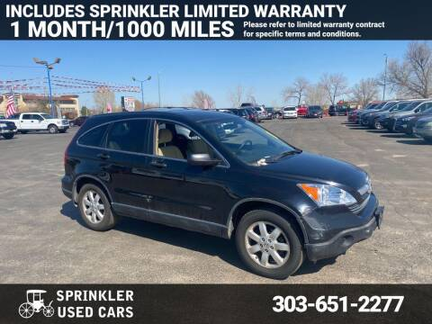 2008 Honda CR-V for sale at Sprinkler Used Cars in Longmont CO