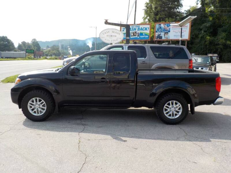 2018 Nissan Frontier for sale at EAST MAIN AUTO SALES in Sylva NC