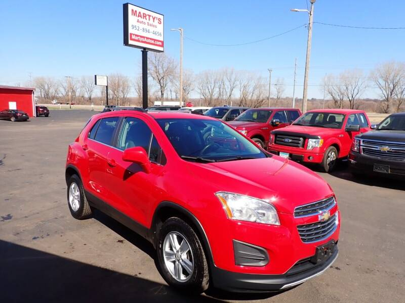 2016 Chevrolet Trax for sale at Marty's Auto Sales in Savage MN
