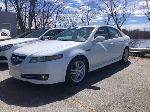 2008 Acura TL for sale at Top Line Import of Methuen in Methuen MA