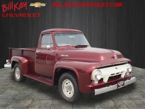 1954 Ford F-250 for sale at Bill Kay Corvette's and Classic's in Downers Grove IL