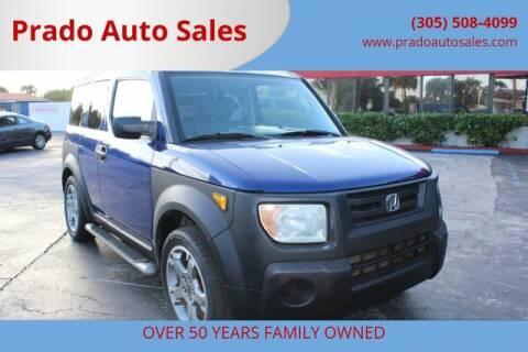 2004 Honda Element for sale at Prado Auto Sales in Miami FL