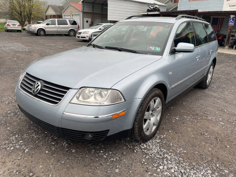 2003 Volkswagen Passat for sale at DOUG'S USED CARS in East Freedom PA