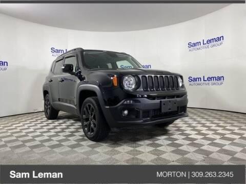 2018 Jeep Renegade for sale at Sam Leman CDJRF Morton in Morton IL