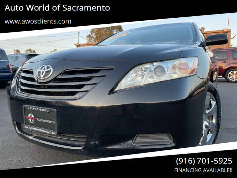 2009 Toyota Camry for sale at Auto World of Sacramento Stockton Blvd in Sacramento CA