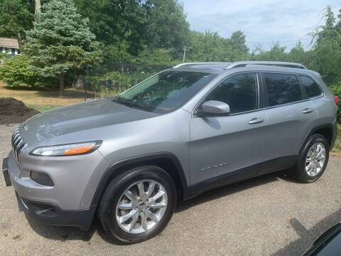 2016 Jeep Cherokee for sale at MEE Enterprises Inc in Milford MA