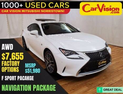 2018 Lexus RC 300 for sale at Car Vision Buying Center in Norristown PA