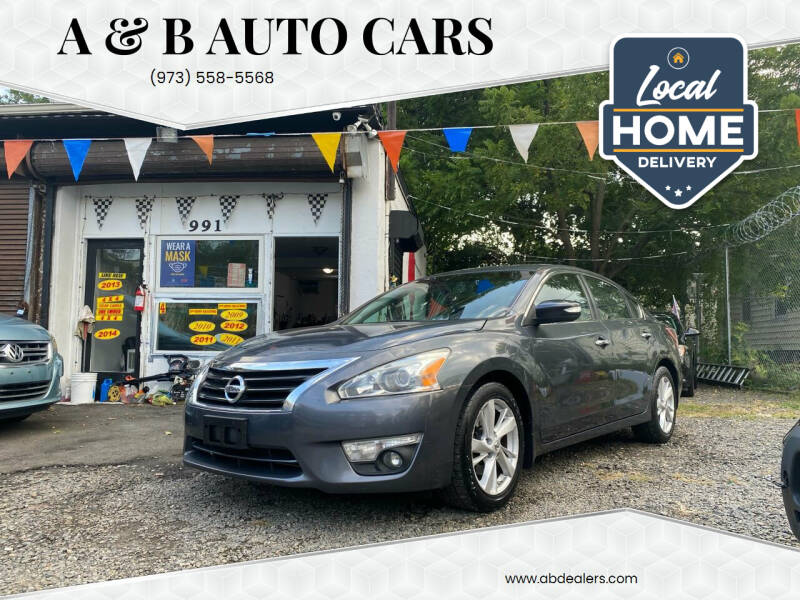2013 Nissan Altima for sale at A & B Auto Cars in Newark NJ