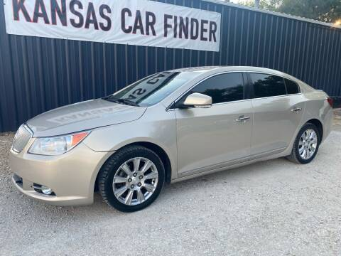 2012 Buick LaCrosse for sale at Kansas Car Finder in Valley Falls KS