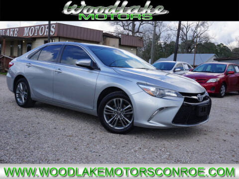 2017 Toyota Camry for sale at WOODLAKE MOTORS in Conroe TX