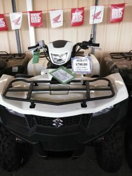 2020 Suzuki KING QUAD 400AXI for sale at Irv Thomas Honda Suzuki Polaris in Corpus Christi TX
