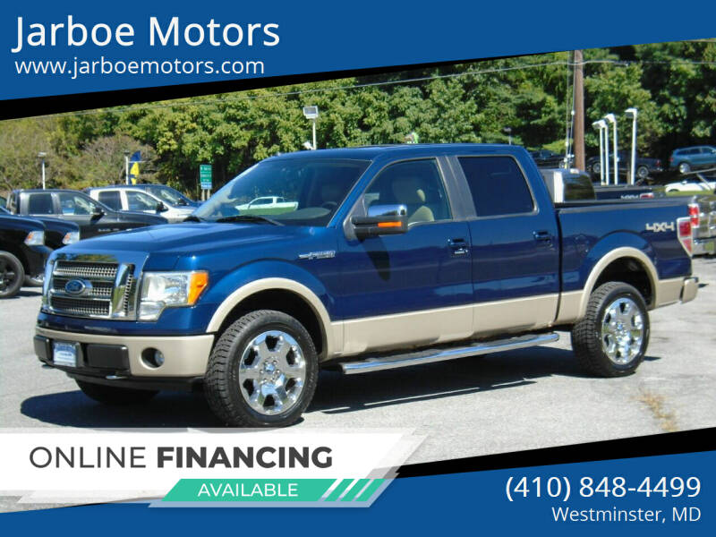 2009 Ford F-150 for sale at Jarboe Motors in Westminster MD