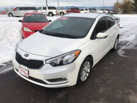 2014 Kia Forte for sale at AUTO BROKER CENTER in Lolo MT