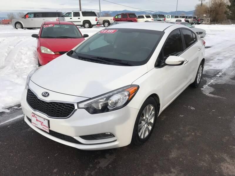 2014 Kia Forte for sale at AUTO BROKER CENTER in Lolo MT