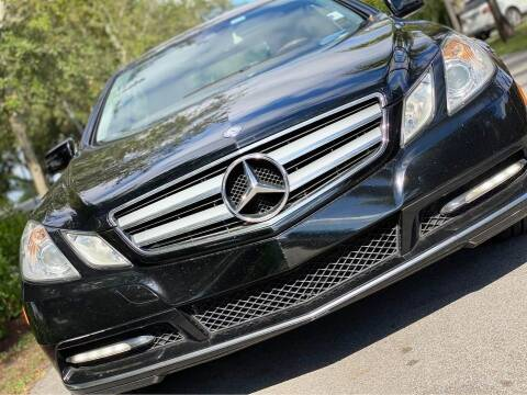 2013 Mercedes-Benz E-Class for sale at HIGH PERFORMANCE MOTORS in Hollywood FL