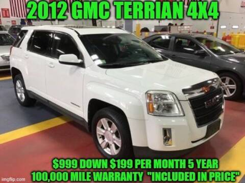 2012 GMC Terrain for sale at D&D Auto Sales, LLC in Rowley MA